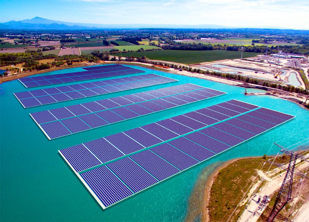 La planta fotovoltaica flotante más grande de Europa
