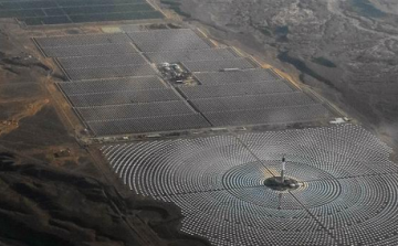 La central termosolar Noor Ouarzazate III