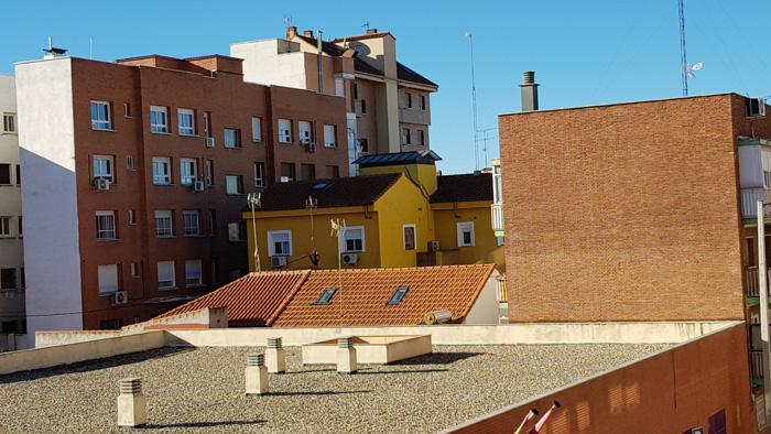 Energía solar en fachadas.