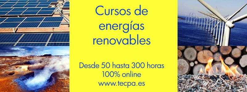 Cursos energias renovables online