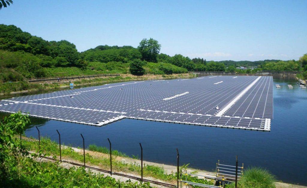 energía fotovoltaica flotante en España