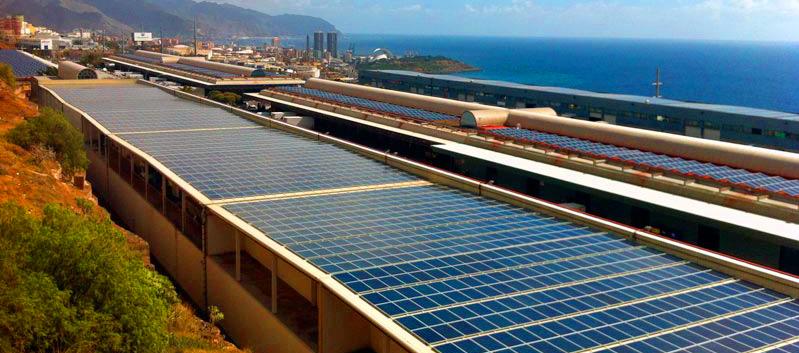 planta de energía solar más grande de Tenesse