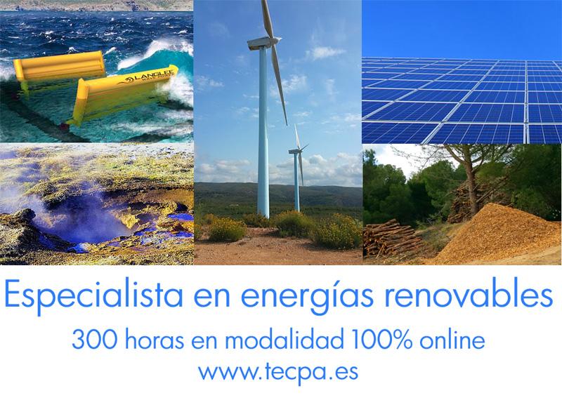 curso de postgrado en especialista en energías renovables