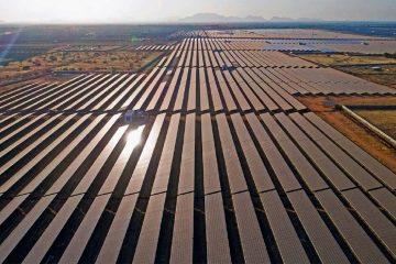 grandes instalaciones de energía solar: Desierto Tegger
