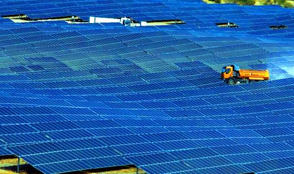 La mayor central fotovoltaica de Europa