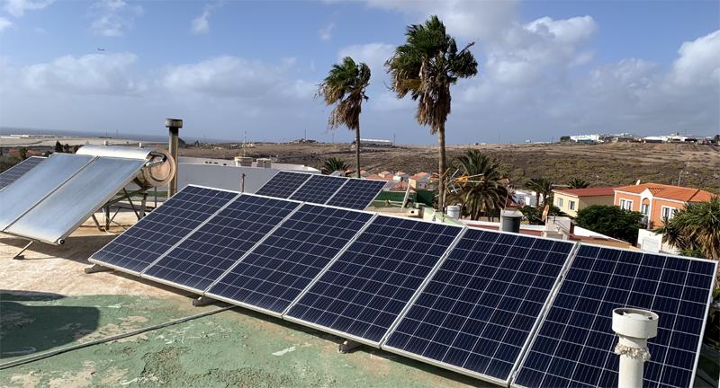 subvención energía solar en Canarias