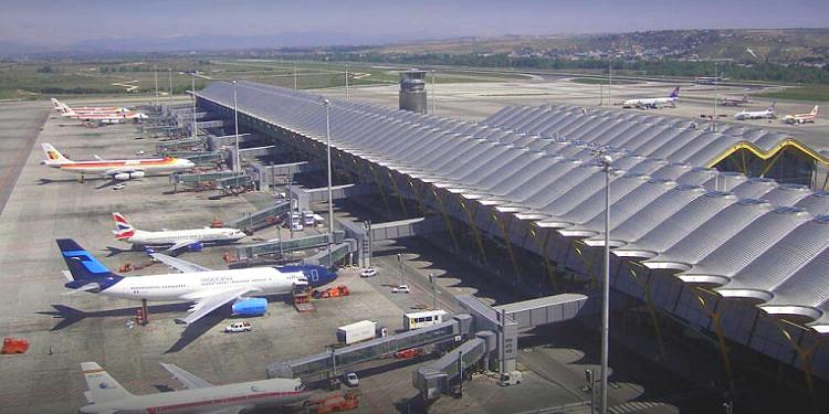 energía solar aeropuerto