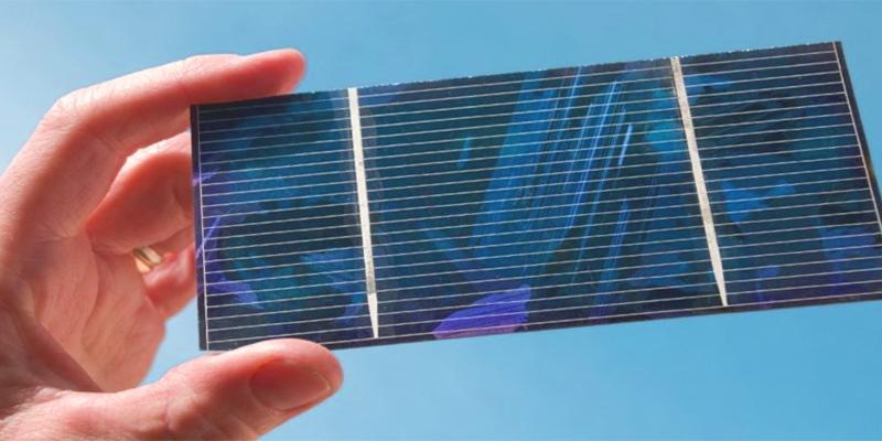 celdas solares a partir de residuos de baterías