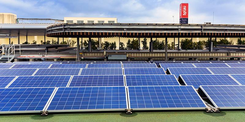planta fotovoltaica centro comercial